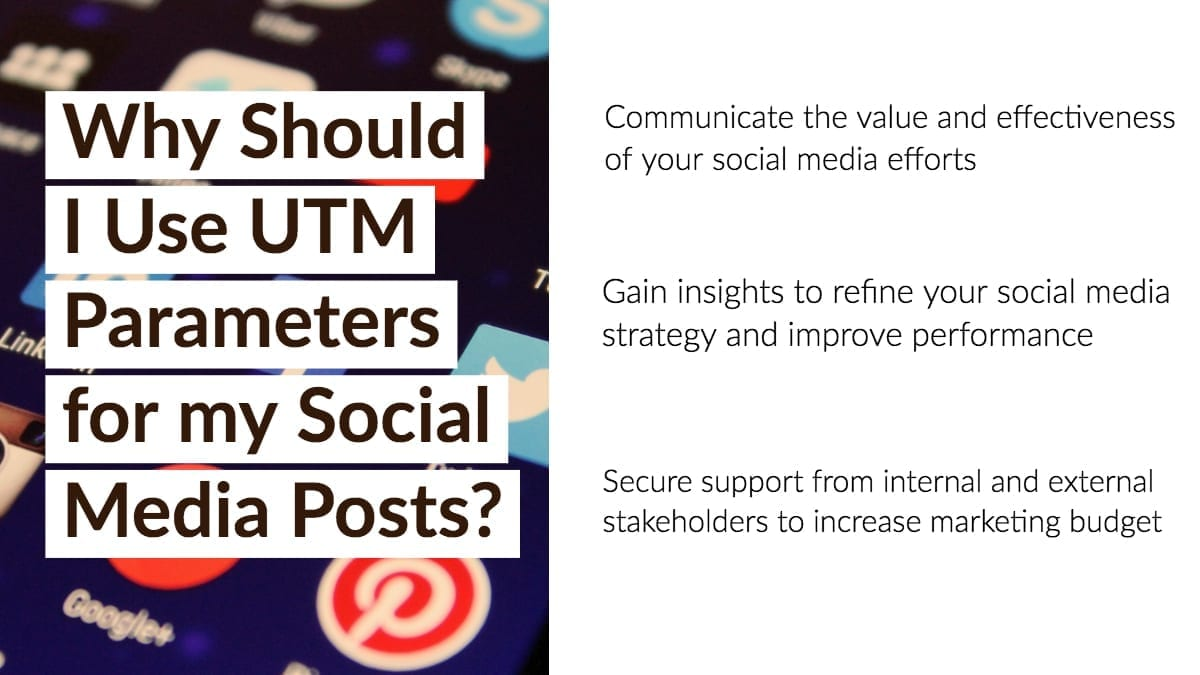 Measuring Social Media Performance with UTM Parameters Infographic